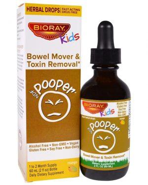 Bioray, Pooper, Bowel Mover for Kids