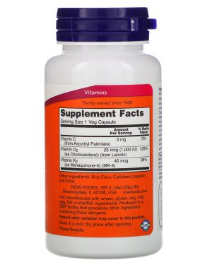 Vitamin D3 & K2