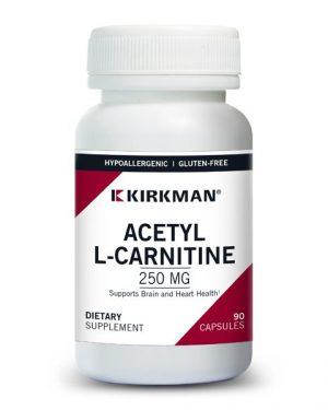 Acetyl L-Carnitine 250 mg – Kirkman