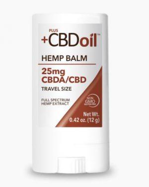 CBD BALM – Strength 25mg Travel Size