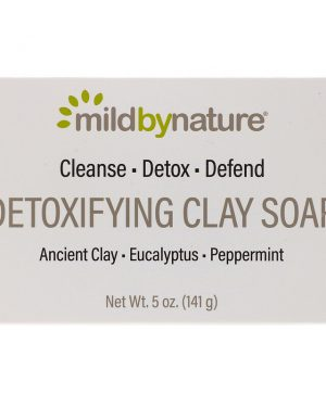 Detoxifying Clay Soap, Eucalyptus & Peppermint, with Ancient Clay, 5 oz