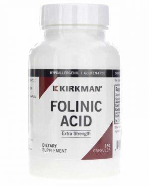 Folinic Acid Extra Strength (800 mcg) – Kirkman