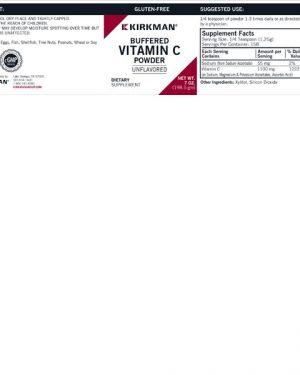 Buffered Vitamin C Powder – Kirkman