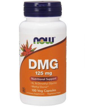 DMG 125 mg, 100 Veg Capsules