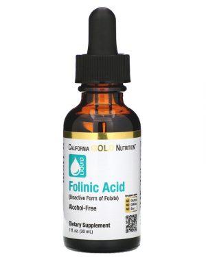 Folinic Acid Liquid 1 fl oz
