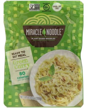 Gluten, Grain and Soy Free Ready-to-Eat Green Curry Noodles, 9.9 oz