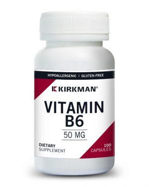 Vitamin B-6 50 mg, Kirkman
