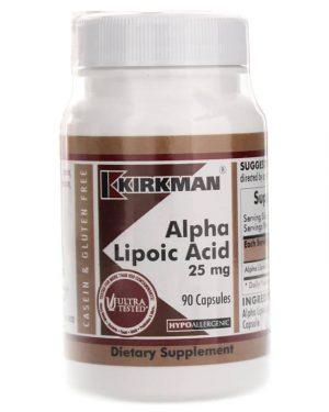 Alpha Lipoic Acid 25 mg, Kirkman