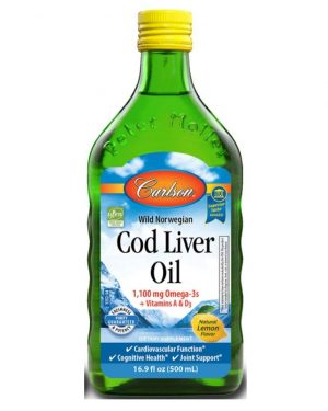 Carlson's Cod Liver Oil (500 ml)