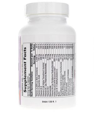 Childrens Multi-Vitamin/Mineral with 5-MTHF, Kirkman