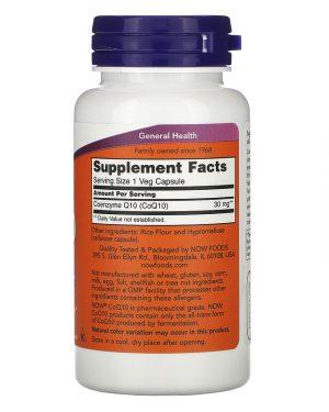 CoQ10, 30 mg (Now)