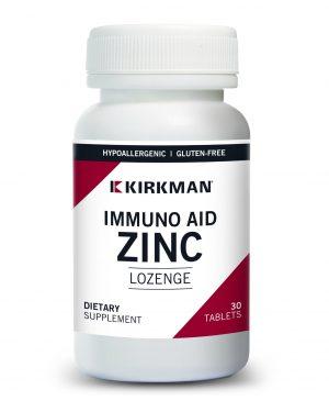 Immuno-Aid Zinc Lozenges, Kirkman