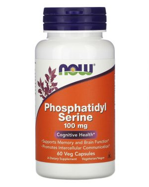Phosphatidyl Serine, 100 mg, 60 Veg Capsules