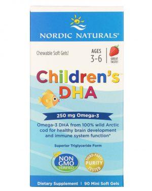 Children's DHA, 90 Soft Gels