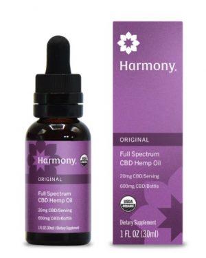 Palmetto Harmony CBD Oil – 20mg CBD/serving (Original)