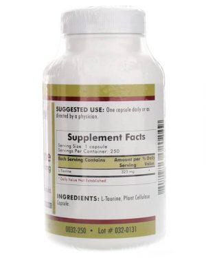 L-Taurine, 325 mg, Kirkman Labs