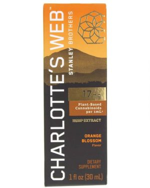 Charlotte's Web CBD Oil: 17mg CBD/1ml (Orange Blossom)