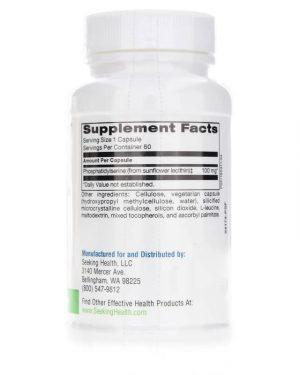 Phosphatidyl Serine 100mg (Seeking Health)