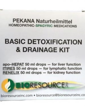 """PEKANA Basic Detox & Drainage Kit """"Big 3 Kit"""""""