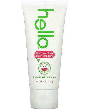 Hello Fluoride Free Toothpaste, Watermelon