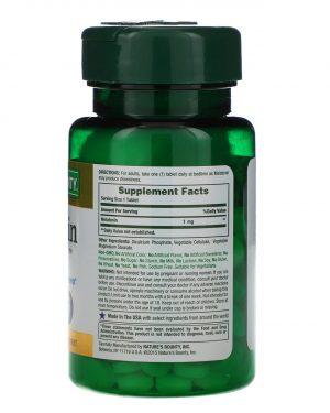 Melatonin, 1 mg, 180 Tablets,Nature's Bounty