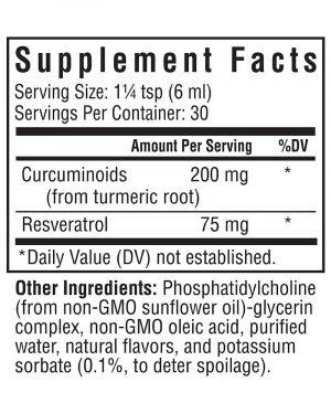 Optimal Liposomal Curcumin